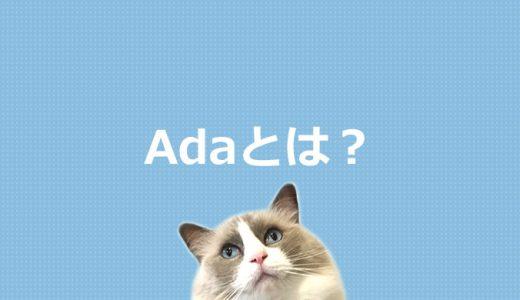 Adaとは?プログラミング言語を初心者にもわかりやすく解説