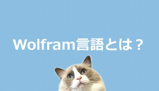 Wolfram言語とは?プログラミング言語を初心者にもわかりやすく解説