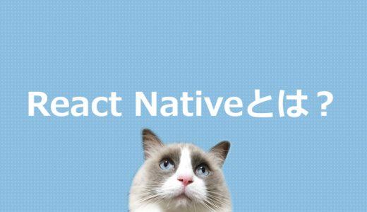 React Nativeとは?JavaScriptフレームワークについて解説